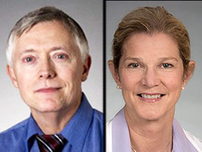 pictures of Michael Piepkorn and Joann Elmore of UW Medicine