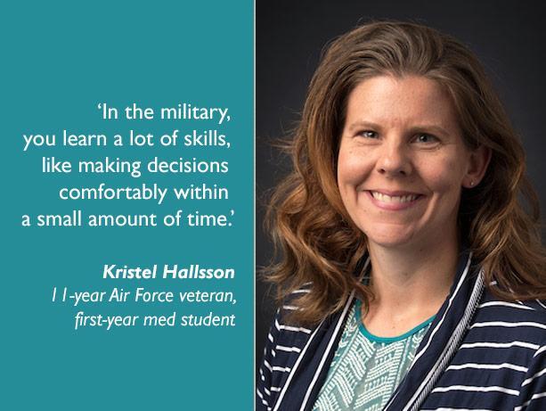 picture of UW School of Medicine first-year student Kristel Hallsson
