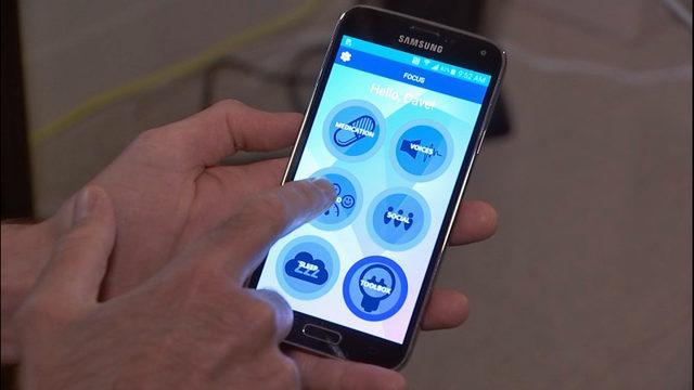 Phone app for mental illness