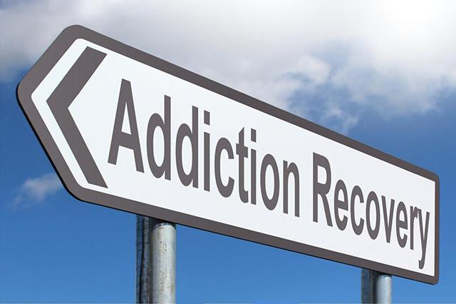 Addiction Recovery sign