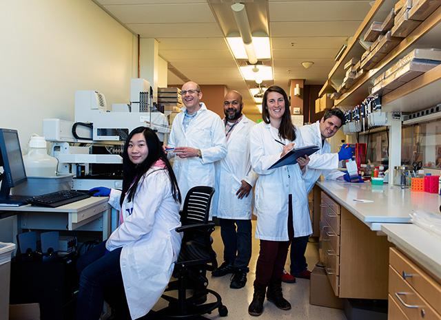 Northwest Genomics Center lab