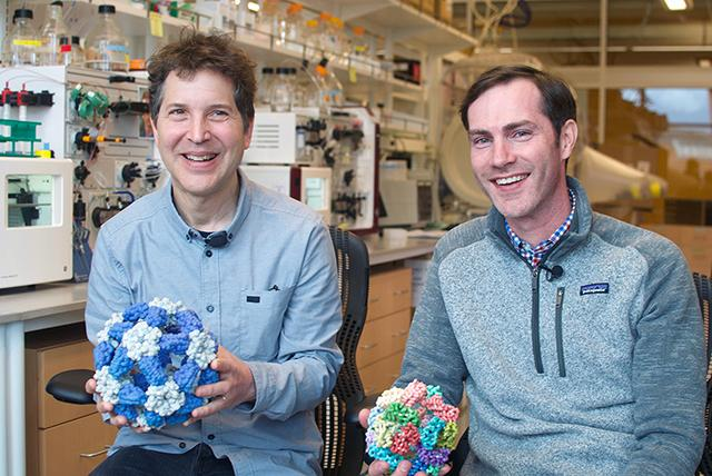 David Baker and Neil King Institute for Protein Design