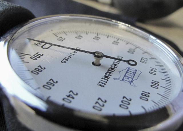 picture of a sphygmomanometer