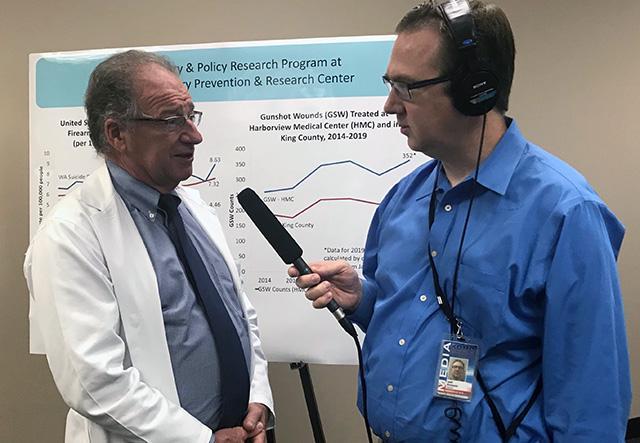 Fred Rivara radio interview