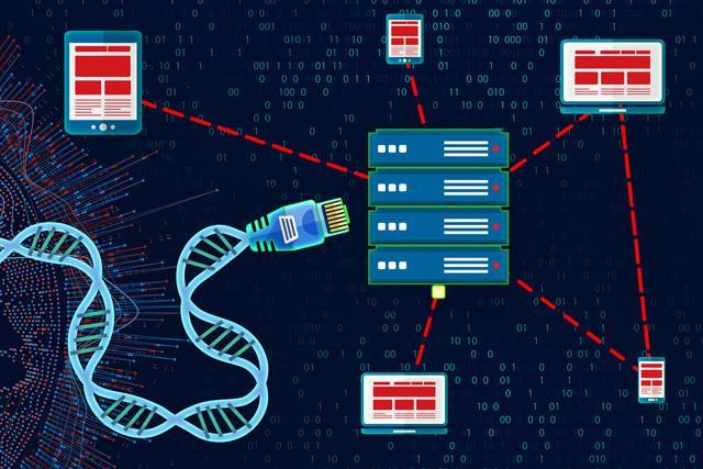 illustration of genomic data collection