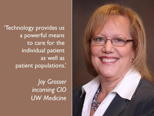 picture of UW Medicine CIO Joy Grosser