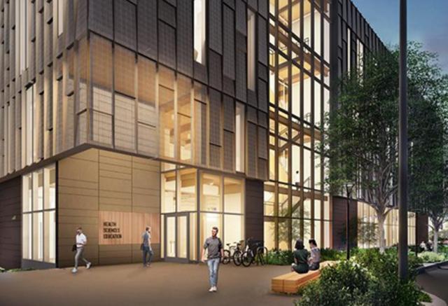 architect conception of UW Health Sciences Education Building