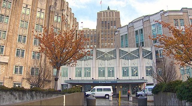 Harborview Medical Center main entrance