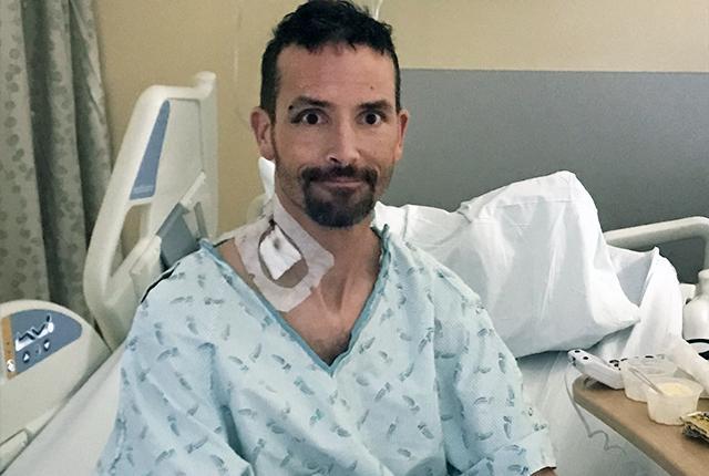 Picture of Michael Knapinski at Harborview Medical Center