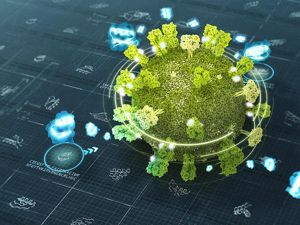 mini proteins targeting flu virus