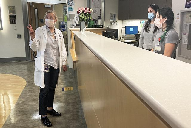 picture of Dr. April Stempien-Otero at UW Medical Center