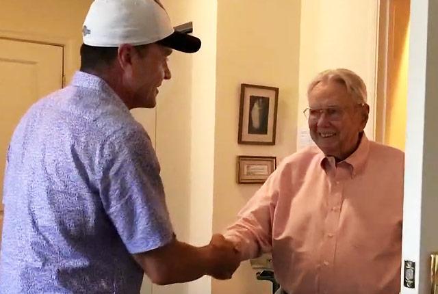 Ben Starnes meets Fred Crowe