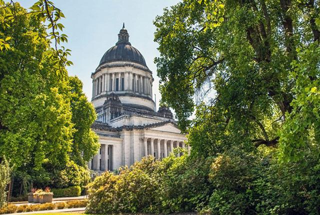 picture of the Washington State Capitol