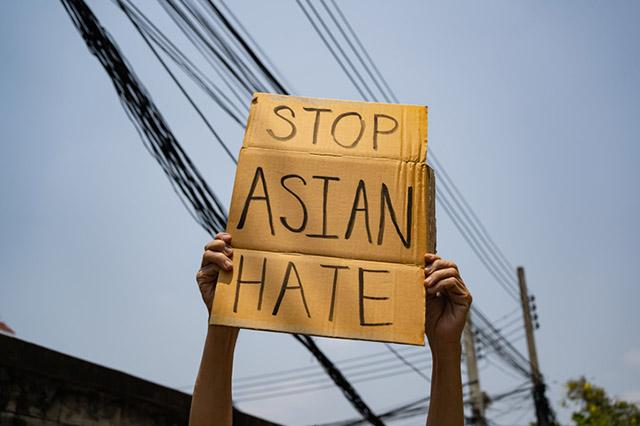 Stop Asian Hate sign