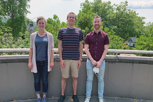 lead researchers on study of Epsilon coronavirus variant from Veesler lab