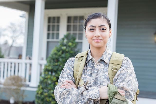 woman vet