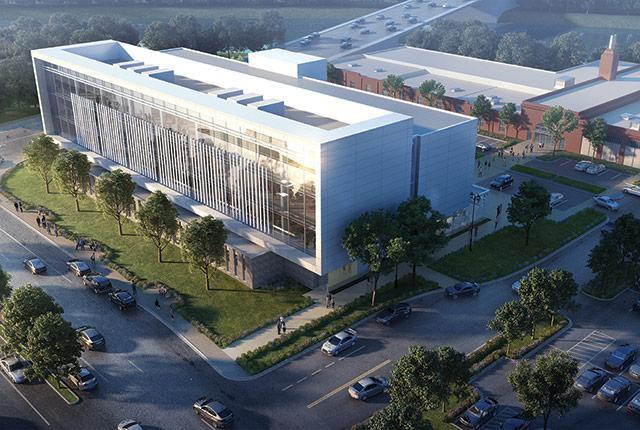 rendering of the new UW-Gonzaga medical building