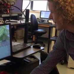 Beth Buffalo neuroscience lab