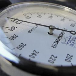 picture of a sphygmomanometer