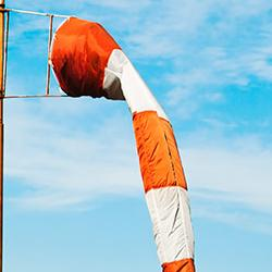 picture of limp windsock