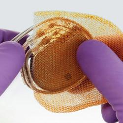 picture of mesh envelope used in clinical trial