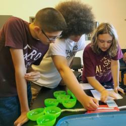 Lewis County students stem camp gene editing
