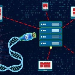 genomic data illustration