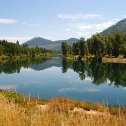 rural idaho lake