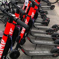 rental scooters in Austin, Texas