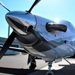 picture of Swiss-engineered Pilatus PC-12 turboprop