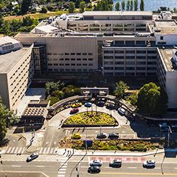 overhead picture of University of Washington Medical Center - Montlake