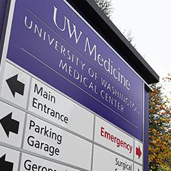 picture of signage at University of Washington Medical Center – Northwest