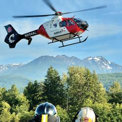 picture of an Airlift Northwest helicopter
