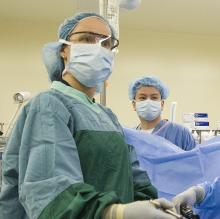 Dr. Rebecca Peterson hernia surgery at Northwest Hospital