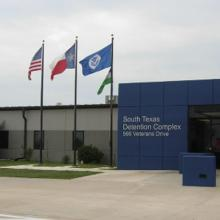 immigrant detention center in Texas