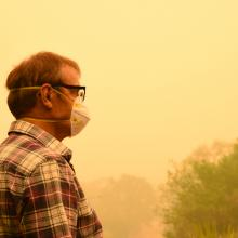 Masks can help: doctor say NIOSH-approved N95 respirators can provide protection against wildfire smoke, if worn correctly.