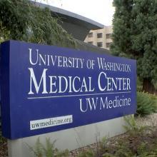 UW Medical Center sign