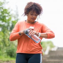 Research shows 7,000 steps a day is a good goal for a longer life - but it also depends on what fitness level you are starting from.