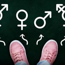 Illustration of gender identity