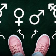 Illustration of gender identity