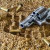 Firearm and bullet casings