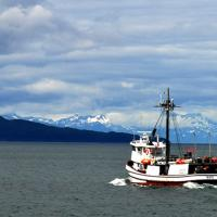 Alaska fishing boat