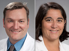 Drs. Jason Smith and Renuka Bhattacharya